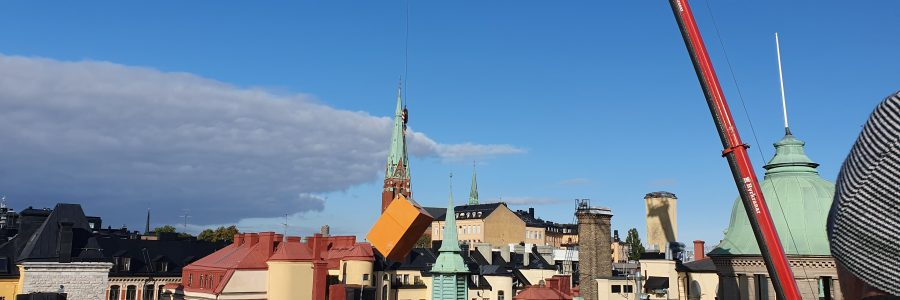 Birger Jarlsgatan centrala Stockholm